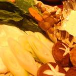 食事処ふくや - セットの野菜