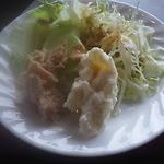 21223379 - 嬬恋村名産のキャベツのサラダ