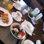 ラ ベデュータ - 朝食時