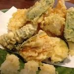 四季 - 天ぷら盛り合わせ
