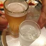 ワインとチーズとホルモン大衆酒場 ホルマル - かんぱーい*\(^o^)/*