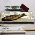 21227234 - ①鮎の甘露煮とうるか