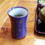 すし処ゆきむら - 料理写真:お茶
