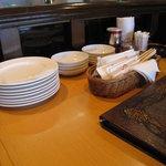 ビアレストラン 門司港地ビール工房 - テーブル