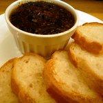 寺田屋 - ご飯を食べてしまうとお酒が飲めなくなるからパンに変えてもらいました。