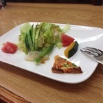 珈琲倶楽部 - 料理写真:デザートランチB サラダ