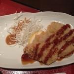 和菜遊彩 叶 - 週替わりの豚ロースかつ