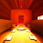 御幸町 純心軒 - 【人気につきお早目に】ゆったりしたソファが人気の完全個室、10名様まで可能!