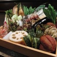 天ぷら 酒菜 醍醐 - 季節の食材