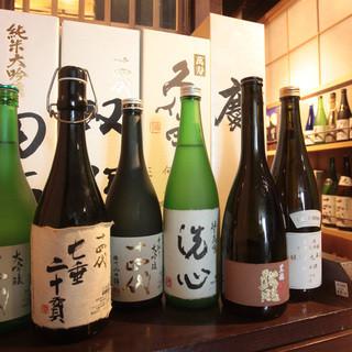 全国各地の『銘酒』日本酒にこだわる