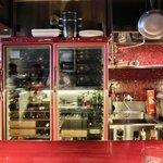 リストランテ シャイー - 【'13/09/10撮影】店内のカウンター席の風景です