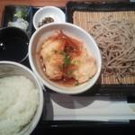 凪 - せいろと鶏南蛮定食¥950