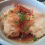 凪 - 鶏南蛮は鶏ムネ肉の天ぷらに野菜が入った餡かけ