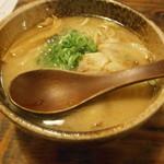 麺屋 清正 - 新味・太麺¥680