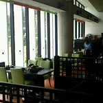 道の駅 みつ シーサイドレストラン 魚菜屋 - テーブル席
