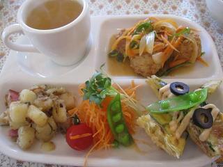 5feet cafe - 私の注文した日替わりランチ