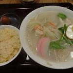 貘 - 太平燕(焼飯付):980円