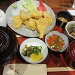 ねんりん - 鶏天膳 1050円