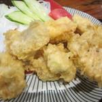 ねんりん - カラッと揚がった鶏天