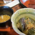 ねんりん - 小鉢 茄子の煮びたし