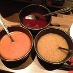 いいだばし畑 - コチュジャン、トマトクリーム、和風タレ