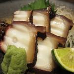 淡路島と喰らえ - 明石の蛸刺し