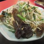 中国料理 黒龍 - ニラときくらげの玉子炒め定食