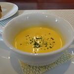 ビストロ ダイア - 口取りに、くり南瓜のスープ