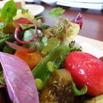 ビストロ ダイア - いつも野菜たっぷりがうれしいですね