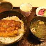 21243331 - 鰻丼ランチセット