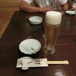 一心 - 生ビールはアサヒ!!