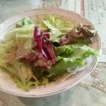 バロッサ - ランチセットのサラダ