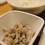 串鳥 - 砂肝耳マヨ和え