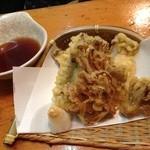 21246825 - 130912秋刀魚ときのこの天ぷら