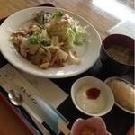 クルーズ・イン - 生姜焼き定食  750円