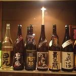 りり庵 - 焼酎(麦・芋)500円~ 泡盛(菊之露5年古酒)600円もあります