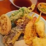 21249749 - 天ぷら定食の天ぷら