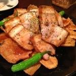 21250084 - ◆豚バラのステーキ~オニオンソース
