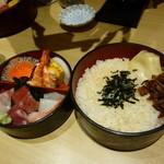 和泉鮨 - 下にご飯