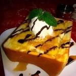 サン・やすらぎ おひさまの部 - デザートにもお食事にも♪    ハニートースト