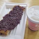 ラディッシュ - 小倉トースト&ドリンクセット(500どう)