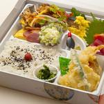 味処 いりふね - 鶏南蛮の彩り弁当 1000円