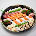 味処 いりふね - 寿司盛り 松 7000円