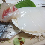味覚 - 鯛、烏賊