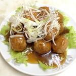 中華料理 新三陽 - 肉ダンゴ(1,000円)2013年9月