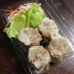 中華料理 新三陽 - 焼売(4個)(300円)持ち帰り仕様2013年9月