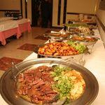 ヤムヤム - 人気の半立食プランの料理です!!