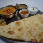 ヒマラヤ - 料理写真:お好みカレーランチ(お好きなカレーとナン、ライス選べます)デトックススープとデザート付き