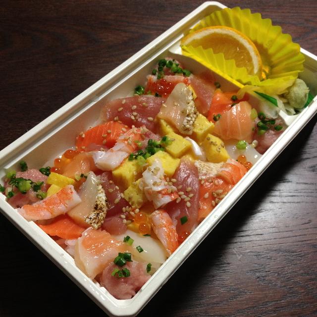京樽 アトレ川崎店 - 秋の海鮮ちらし(750円)2013年9月