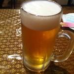 タイレストラン ブアールアン - 生ビール(480円)